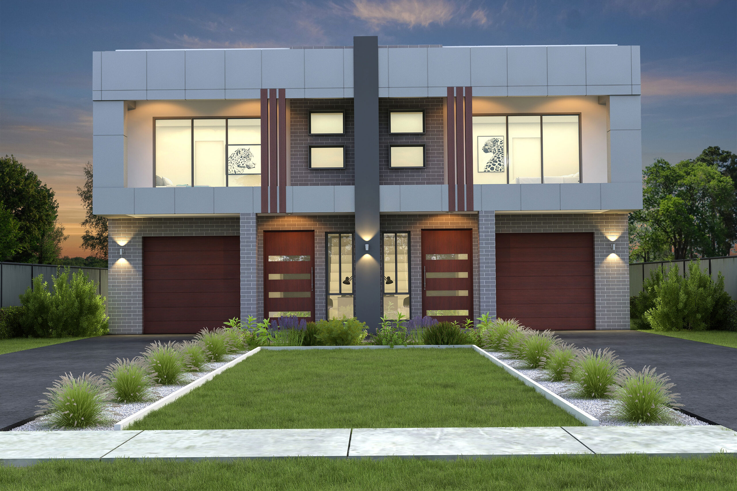 Dhursan Construction - Duplex facades