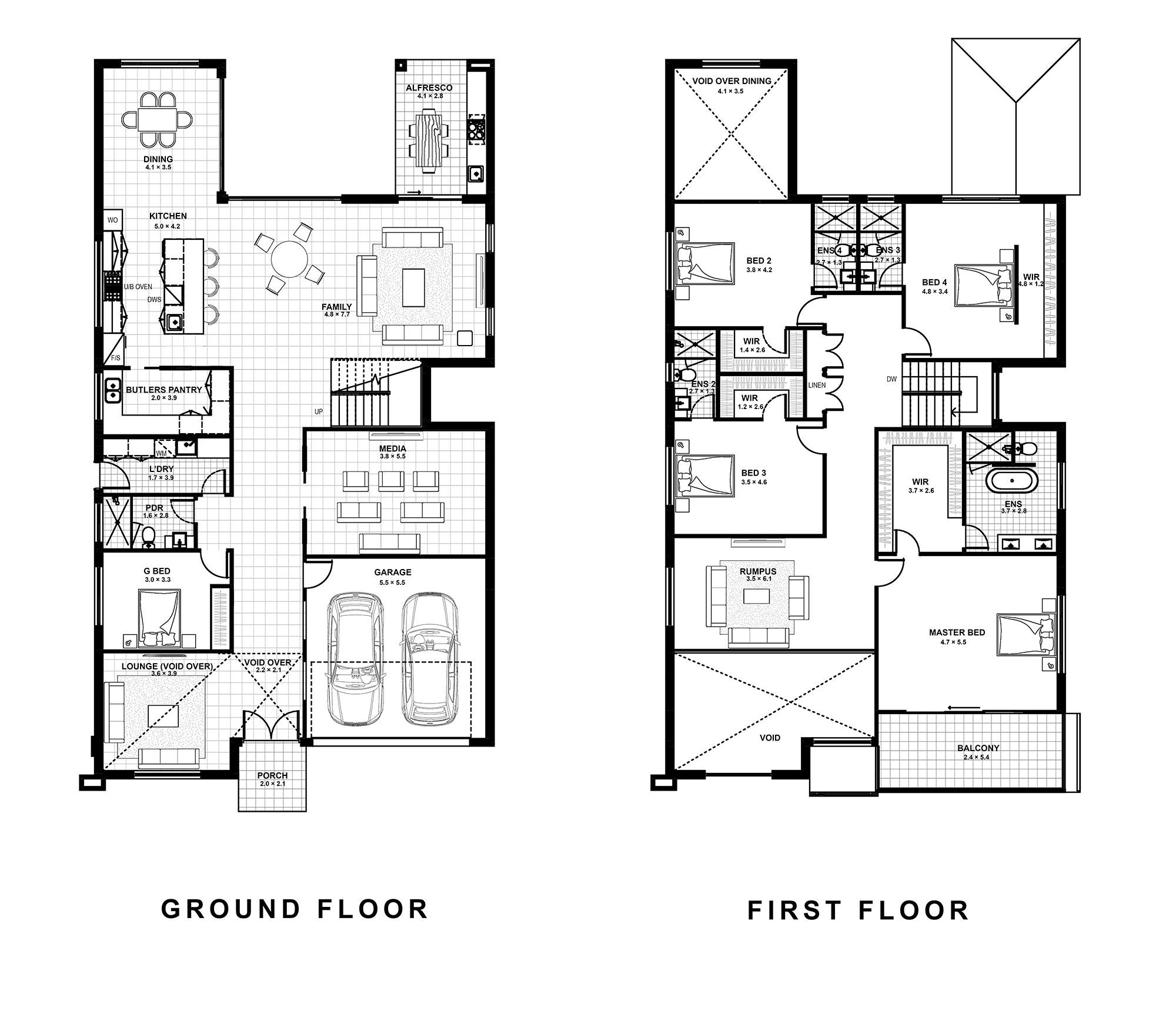 Wahroonga floor plan